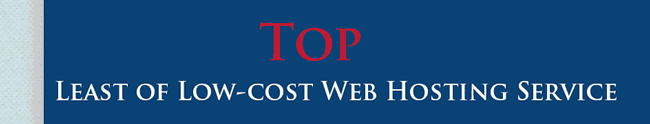 Best Low Cost Web Hosting Providers around the globe.