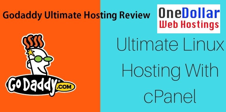 Godaddy Ultimate Linux hosting with Cpanel