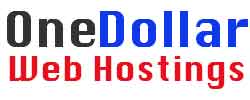One Dollar Web Hosting with Free Domain