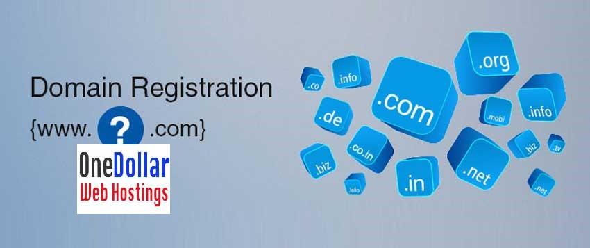 Godaddy 1 dollar domain Registartion
