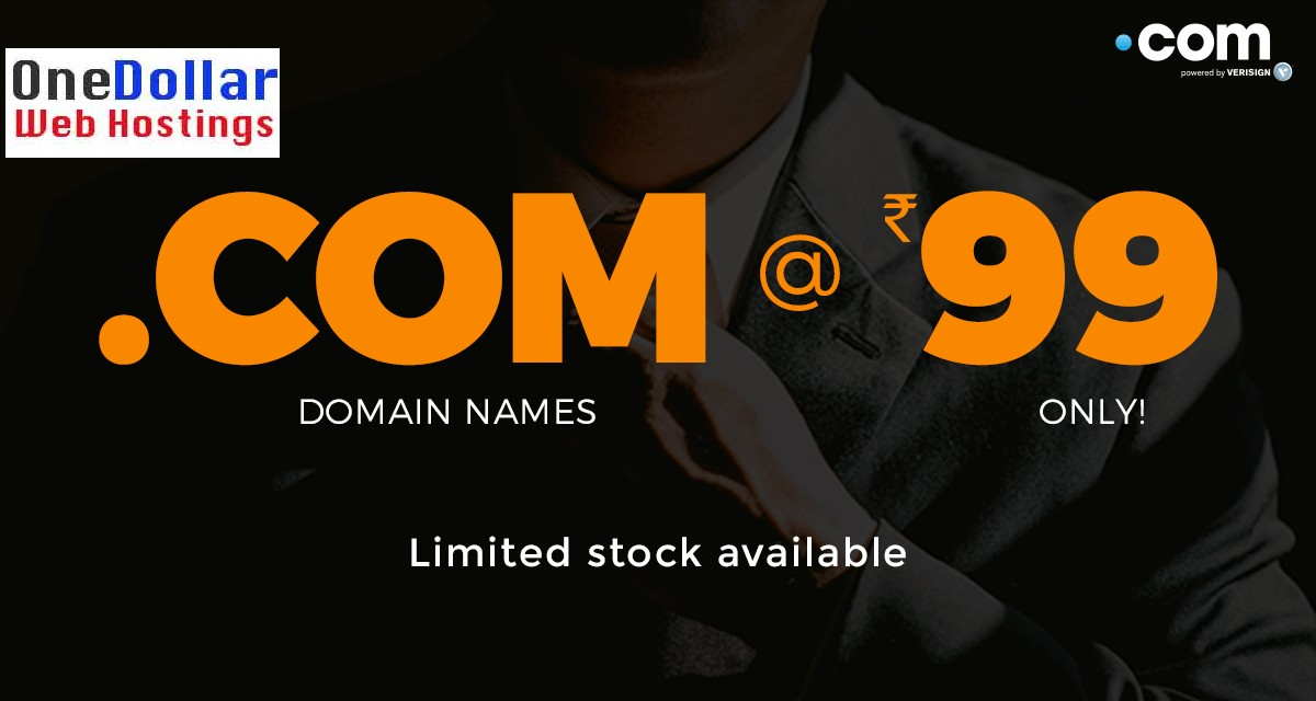 Rs 99 Domain Godaddy