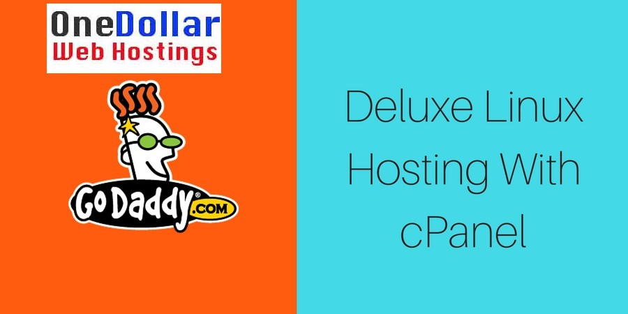 Deluxe Linux Hosting with Cpanel Godaddy