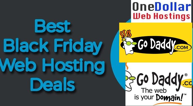 Best Hosting deals on Godaddy Black Friday sale 2018