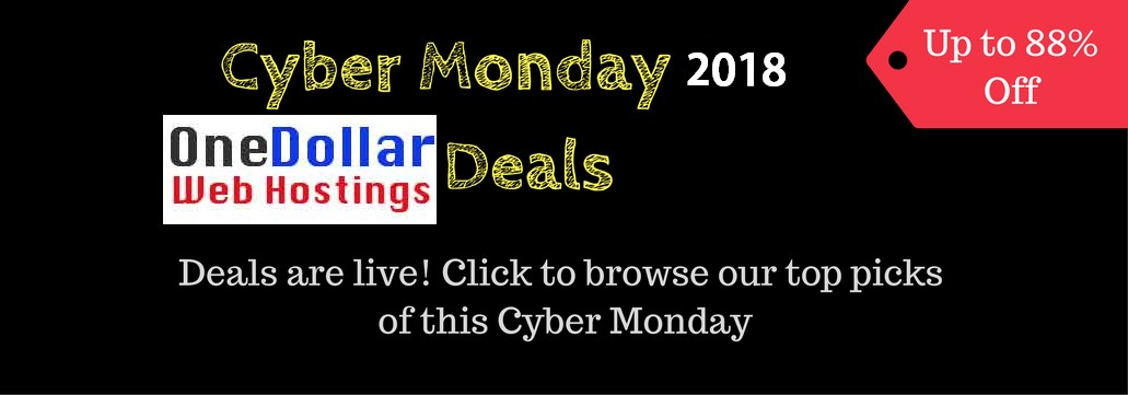 GoDaddy Cyber Monday Deals 2018