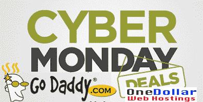 GoDaddy Cyber Monday Sale 2018