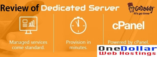 Godaddy Dedicated server Review