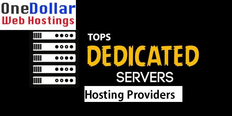 Top dedicated servers Providers