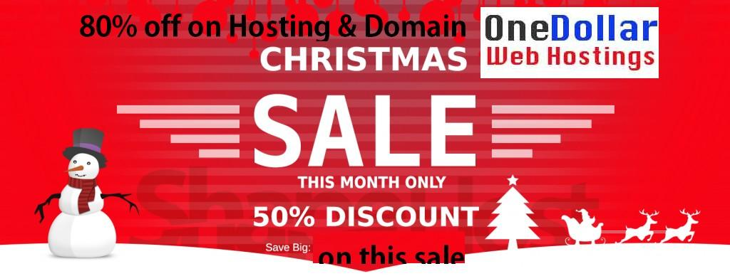 christmas hosting offer 2018