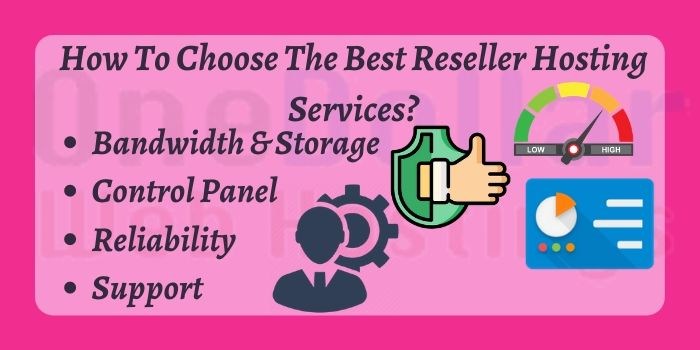 Features of Reseller Hosting