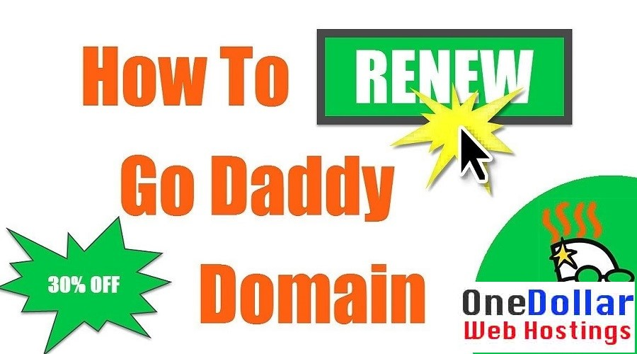 30% OFF Godaddy Coupon