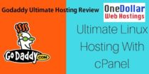 Godaddy Ultimate Hosting Discount with Cpanel with Renewal Code