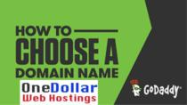 How to choose a domain name from Godaddy? Best tips to perfect Domain