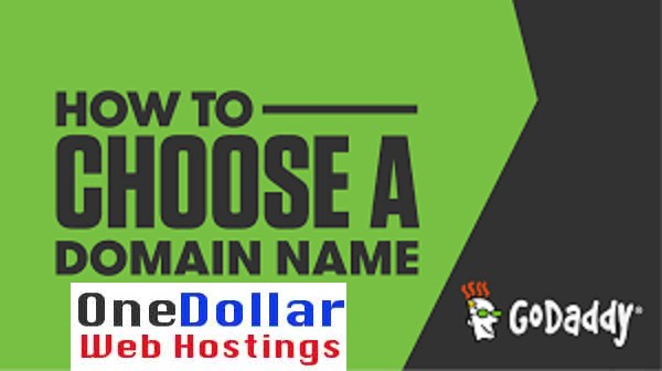 How to choose a domain name from Godaddy
