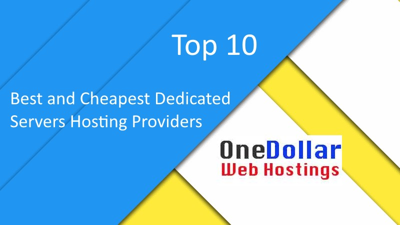 Top 10 Best Dedicated Server Hosting