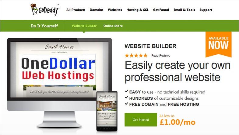 Godaddy Website Builder Review