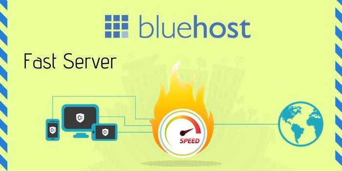 Bluehost server