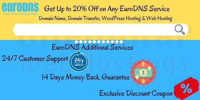 EuroDNS Discount Code