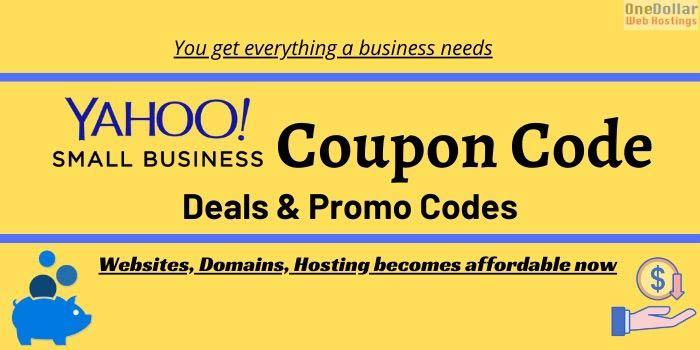 Yahoo Coupon Code