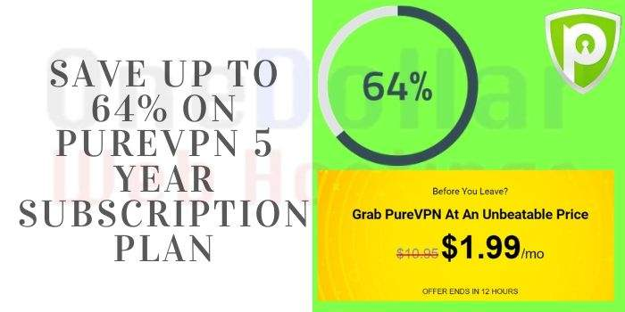 PureVPN 5 Year Subscription Offers