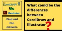 What is the difference between CorelDraw and Illustrator?