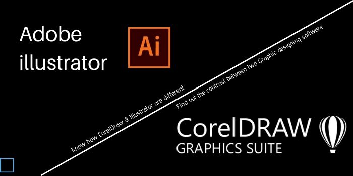 CorelDraw and Illustrator Difference