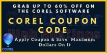 Upto 60% Off Corel Coupon Code & Promo Code 2021