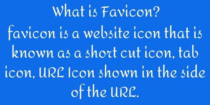 What is Favicon