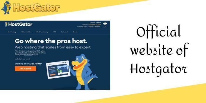HostGator Official Website