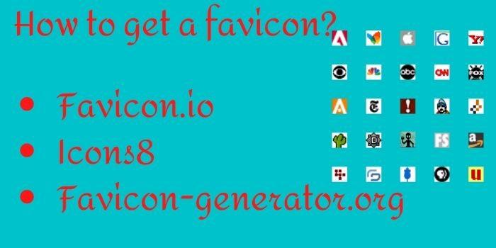 Generate favicon