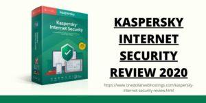 Kaspersky Internet Security Review 2020