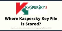 Where Kaspersky Key File is Stored?
