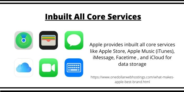 Why Apple is so Successful-Inbuilt All Core Services