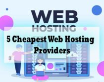 Top 5 Cheapest Web Hosting Per Month Providers 2021