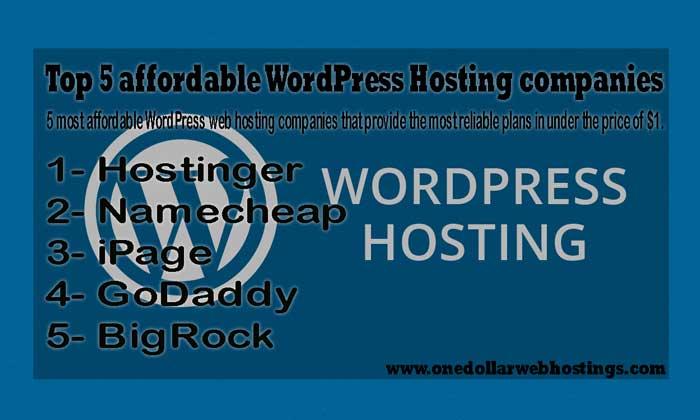 Top-5-affordable-WordPress-Hosting-companies