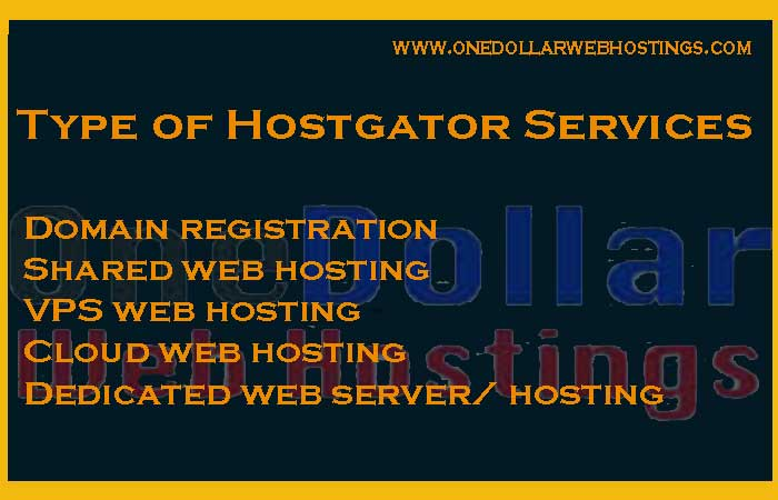 Type-of-Hostgator-Services
