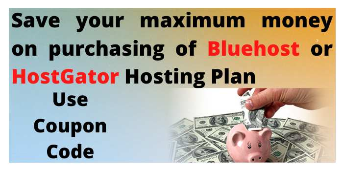 save your money on bluehost & hostgator plans
