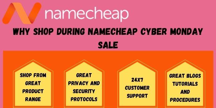 Benefits of shopping during NameCheap Cyber Monday Deals