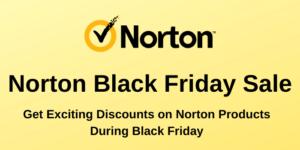 Norton Black Friday Sale
