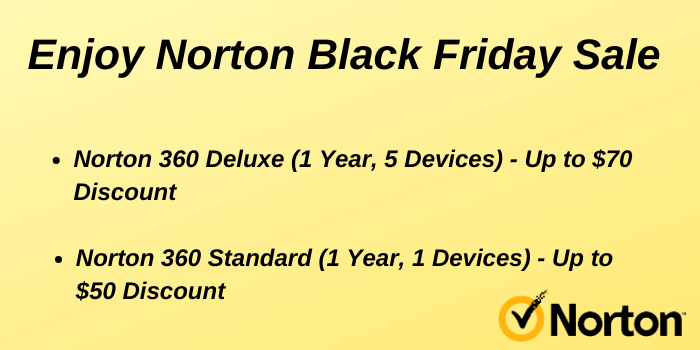 Norton Black Friday Sale on Norton 360