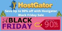 Upto 90% off on Hostgator Black Friday sale 2020 – Best Discount Deal
