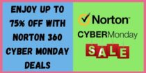 Upto 75% during Norton Cyber Monday Sale – Best Discount Deal 2020