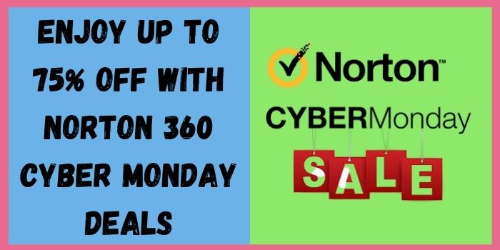 Save up to 75% during the Norton Cyber Monday Deal