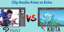 Clip Studio Paint Vs Krita 2021