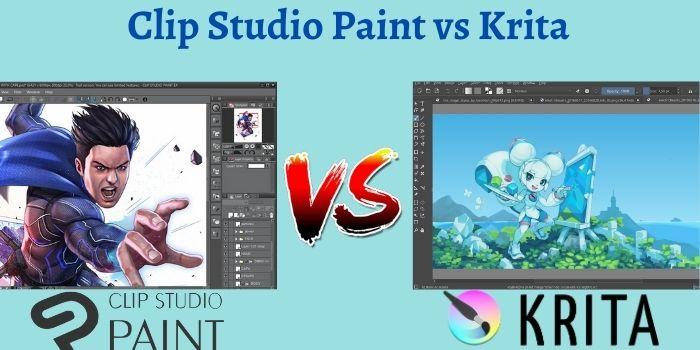 Clip Studio Paint vs Krita