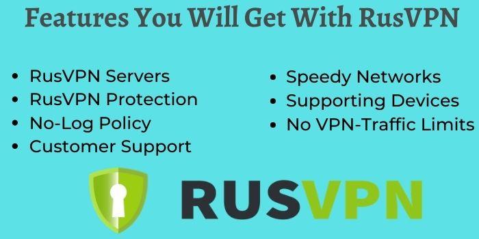 Features Of RusVPN