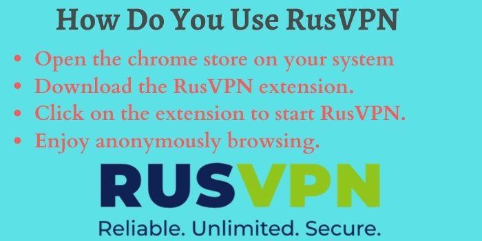 How Do You Use RusVPN