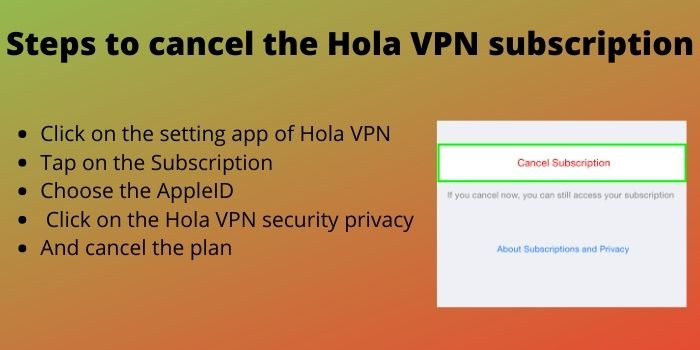 Step To Disable Hola VPN