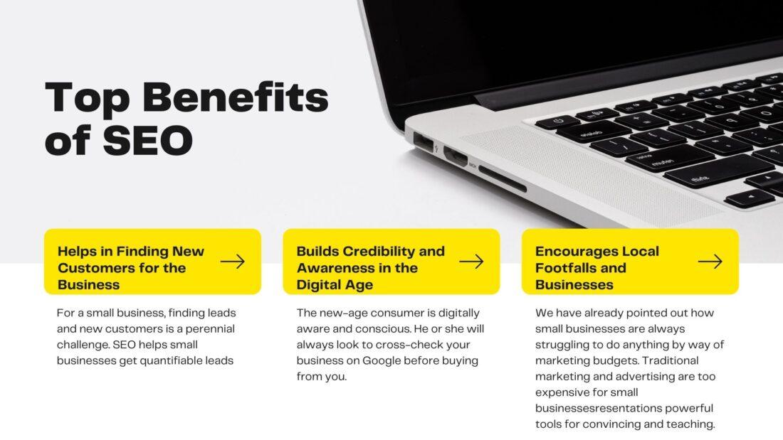 list of benefits of SEO