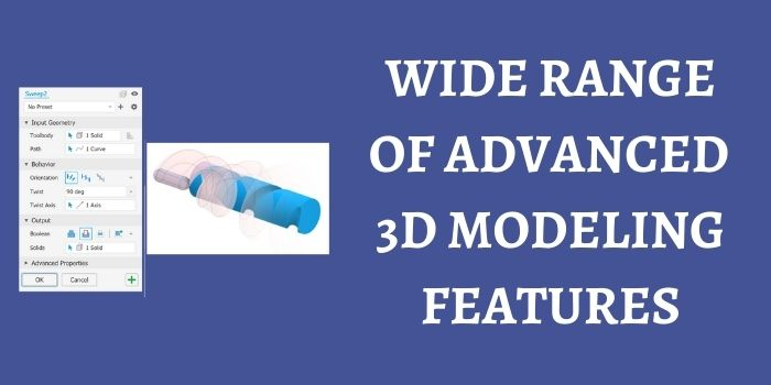 3D modeling tools of Autodesk Inventor