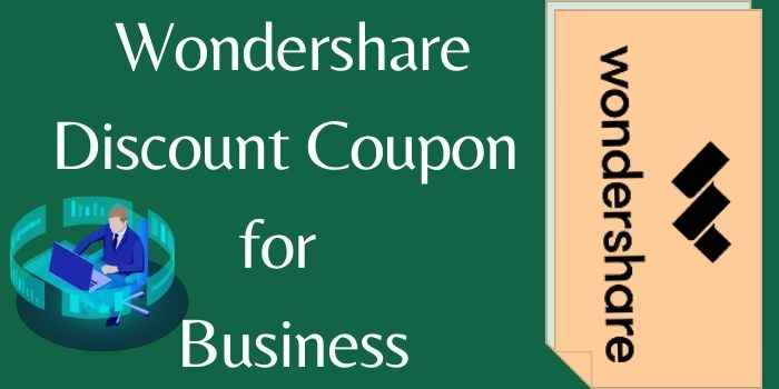 Wondershare Discount Coupon for Business